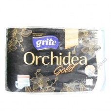 Grite Orchidea Gold - Полотенца бумажные,  3 слоя, 4 шт