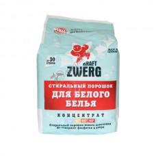 Kraft Zwerg White Стиральный порошок для белого белья 1 кг