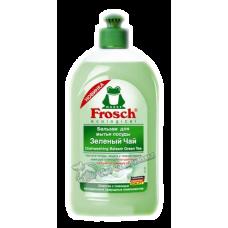 Frosch – Бальзам для мытья посуды Зеленый чай, 0,5 л