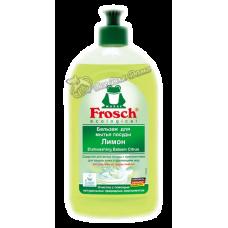 Frosch – Бальзам для мытья посуды Лимон, 0,5 л