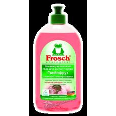 Frosch – Бальзам для мытья посуды Грейпфрут, 0,5 л