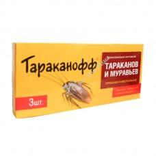 Тараканофф - Приманка от тараканов и муравьев (3 шт,)
