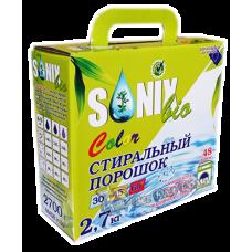 SonixBio Color - стиральный порошок для цветного белья, 2,7 кг