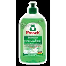 Frosch – Средство для мытья посуды Зеленый Лимон, 0,5 л