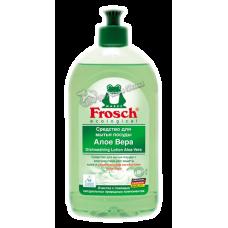 Frosch – Средство для мытья посуды Алоэ Вера, 0,5 л