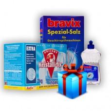 Набор Для ПММ Bravix + Luxus Professional Kristall-Fix