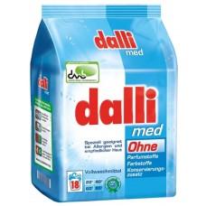 Dalli Med - гипоаллергенный стиральный порошок для стирки белого и сильнозагрязненного белья