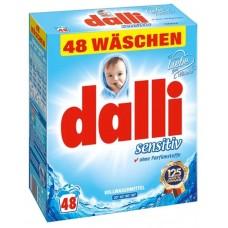 Dalli Sensitiv - Стиральный порошок без фосфатов для людей с чувствительной кожей