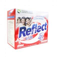 Reflect White - Универсальный, концентрированный порошок для белого белья, 650 гр, 30 стирок