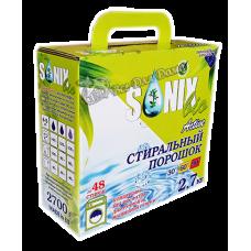 SonixBio Active - стиральный порошок для белого и светлого белья, 2,7 кг