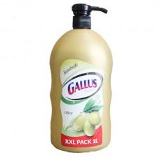 Gallus Оливковое - Жидкое мыло с дозатором, 1 л