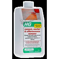 HG – Средство для удаления известкового, цементного налета и пятен, 1000 мл