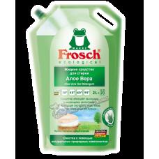 Frosch – Универсальный концентрированный гель для стирки белого и цветного белья, Алоэ Вера, 2,0 л