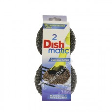 Dishmatic - сменный блок (металлическая губка), 2 шт