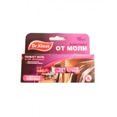 Dr, Klaus - Антимоль, пластины с запахом лаванды (10 шт,)