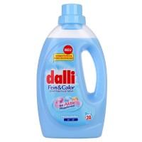 Dalli Fein & Color - специальный концентрированный гель для бережной очистки и ухода за дорогими тканями, 1,1 л