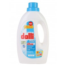 Dalli Med - гипоаллергенный гель для стирки белого белья, 1,1 л