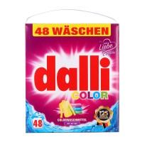 Dalli Color - стиральный порошок для цветного и белого белья без фосфатов XL 3,12 кг