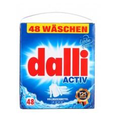 Dalli - универсальный стиральный порошок без фосфатов 3,12 кг XL