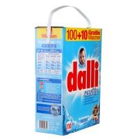 Dalli Sensitiv - Стиральный порошок без фосфатов для людей с чувствительной кожей XXL 7,15 кг