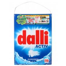 Dalli Activ концентрированный универсальный стиральный порошок без фосфатов XXL 7,15 кг
