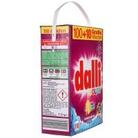 Dalli Color - стиральный порошок для цветного и белого белья без фосфатов XXL 7,15 кг