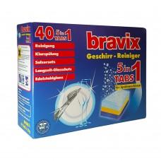 Bravix Таблетки для посудомоечной машины 5 в 1