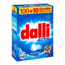 Dalli Activ концентрированный универсальный стиральный порошок без фосфатов XXL 7,15 кг (Уценка)