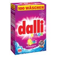 Dalli Color - универсальный стиральный порошок для цветного и белого белья без фосфатов XXL 7,15 кг