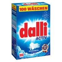 Dalli - универсальный стиральный порошок без фосфатов XXL 7,15 кг